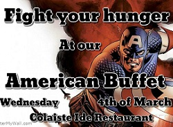 American Buffet Culinary Event