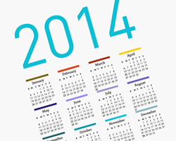 Calendar of Events Academic Year 2014-2015